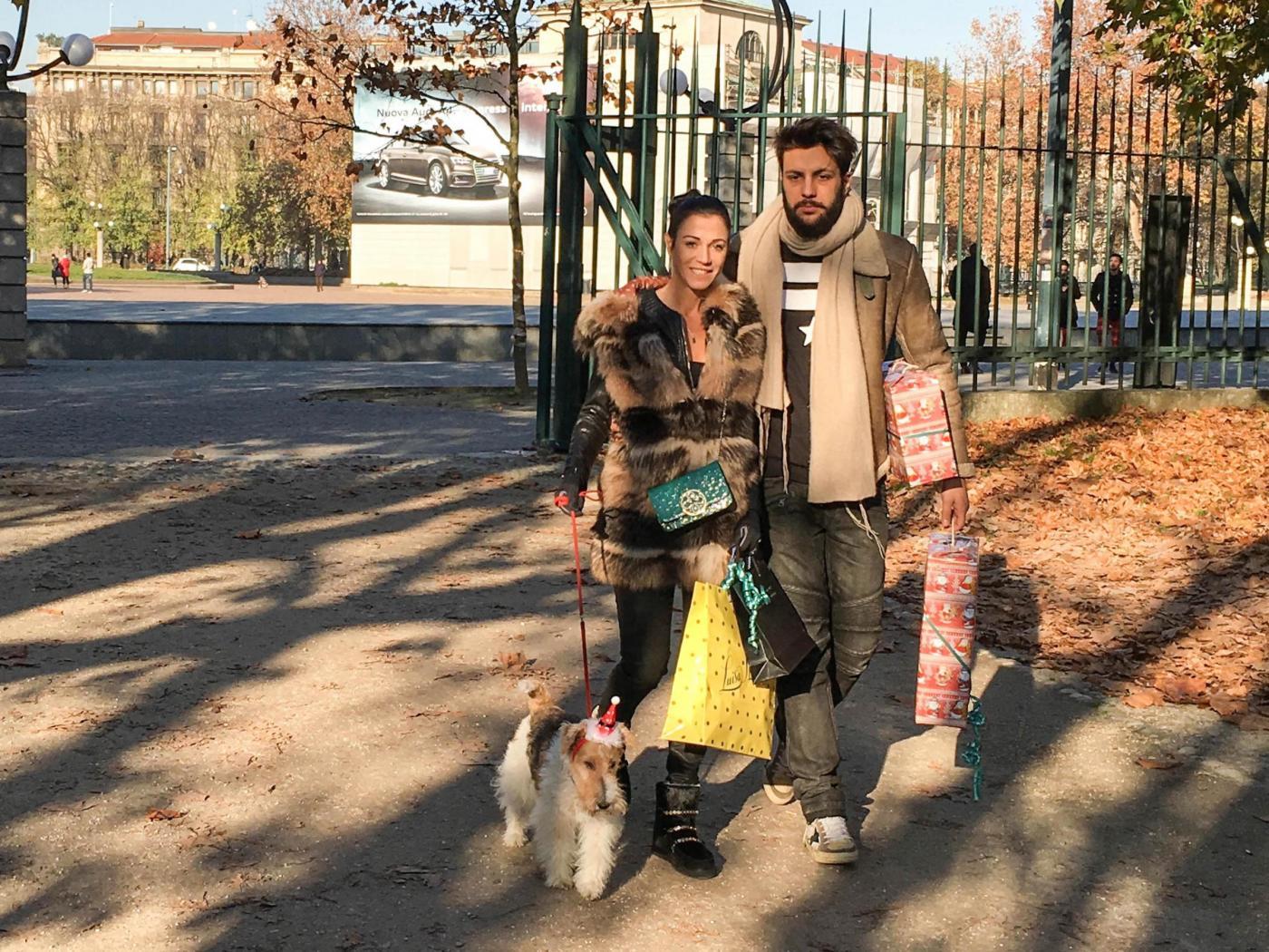 Federica Torti, shopping con il fidanzato Federico Balocco13
