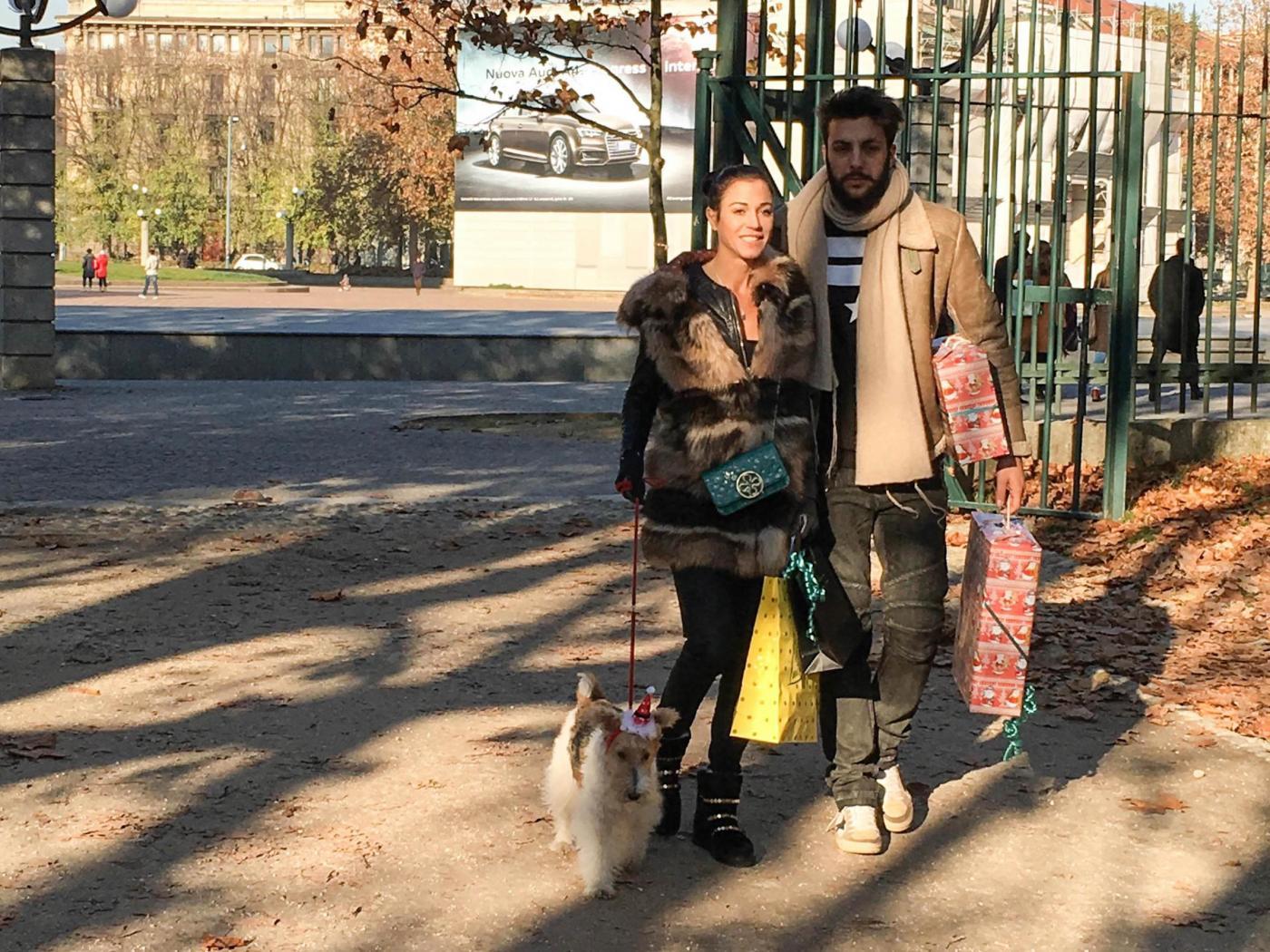 Federica Torti, shopping con il fidanzato Federico Balocco12