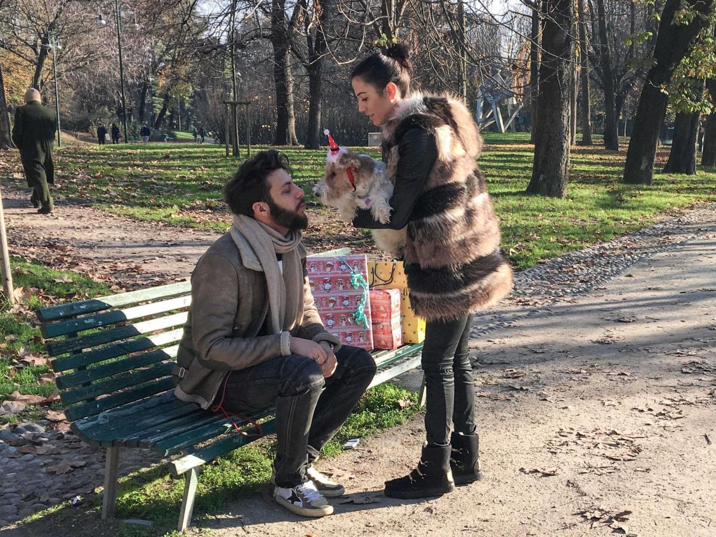 Federica Torti, shopping con il fidanzato Federico Balocco9