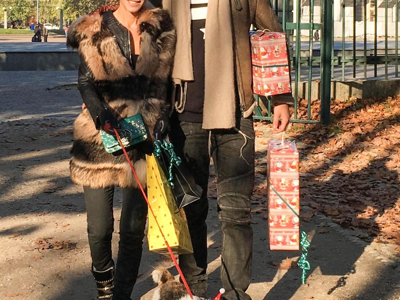 Federica Torti, shopping con il fidanzato Federico Balocco4