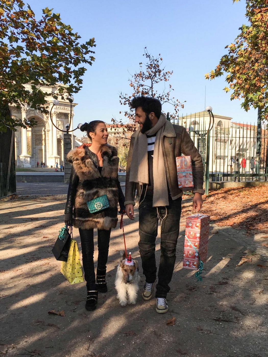 Federica Torti, shopping con il fidanzato Federico Balocco2