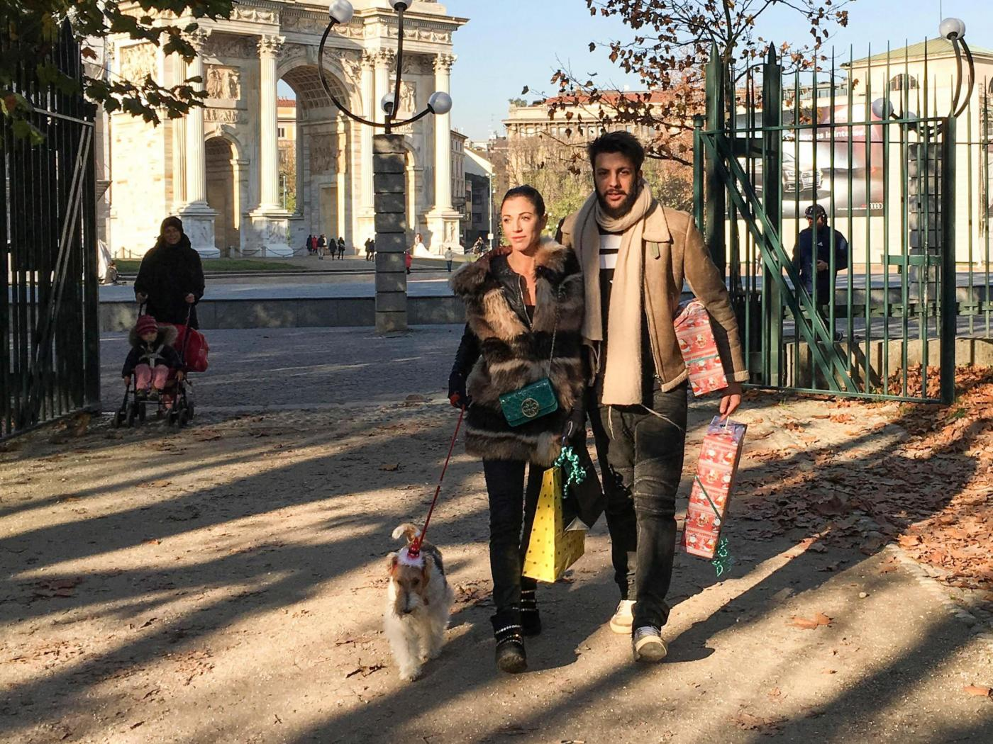 Federica Torti, shopping con il fidanzato Federico Balocco