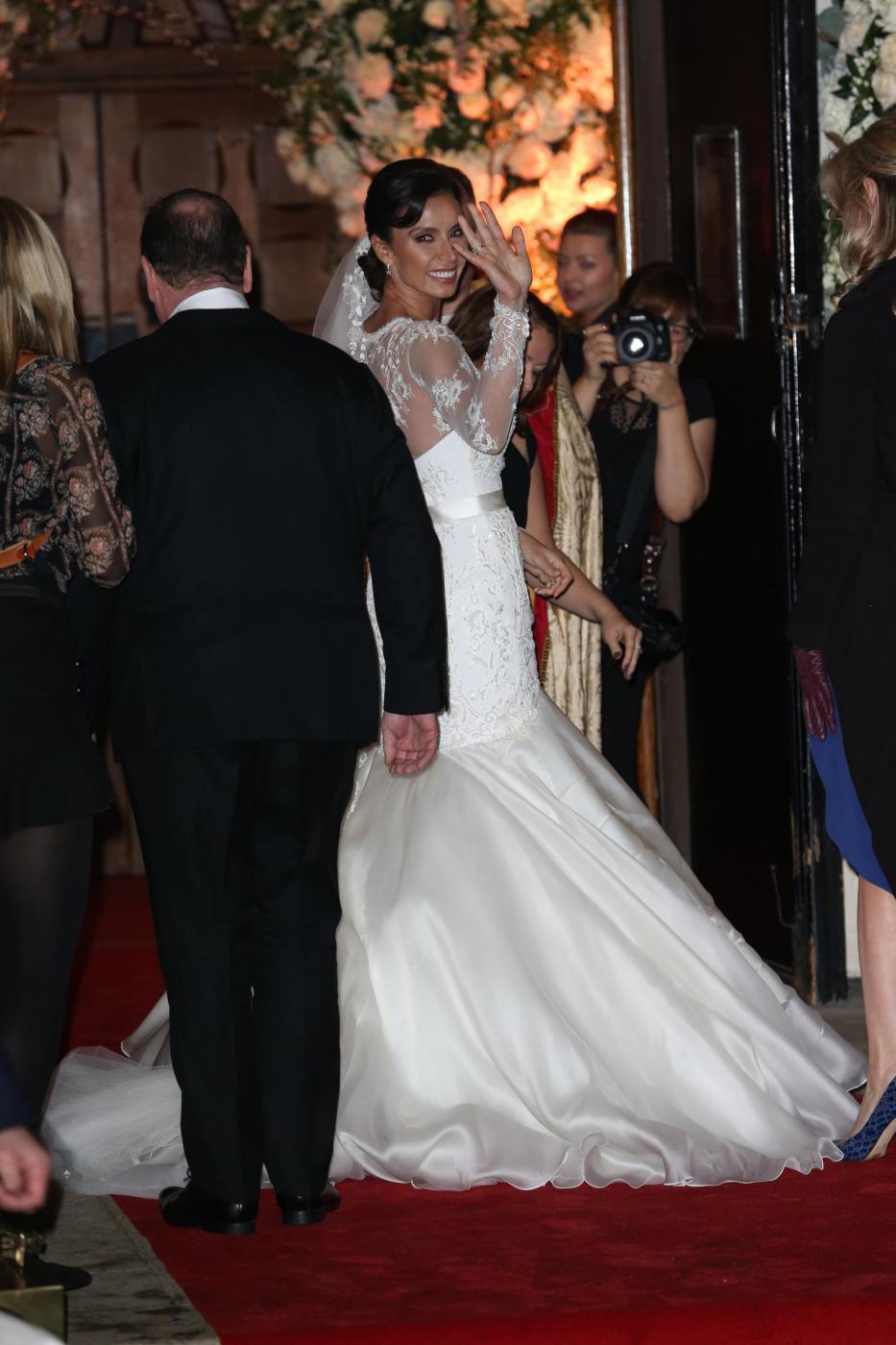 Frank Lampard sposa Christine Bleakley1