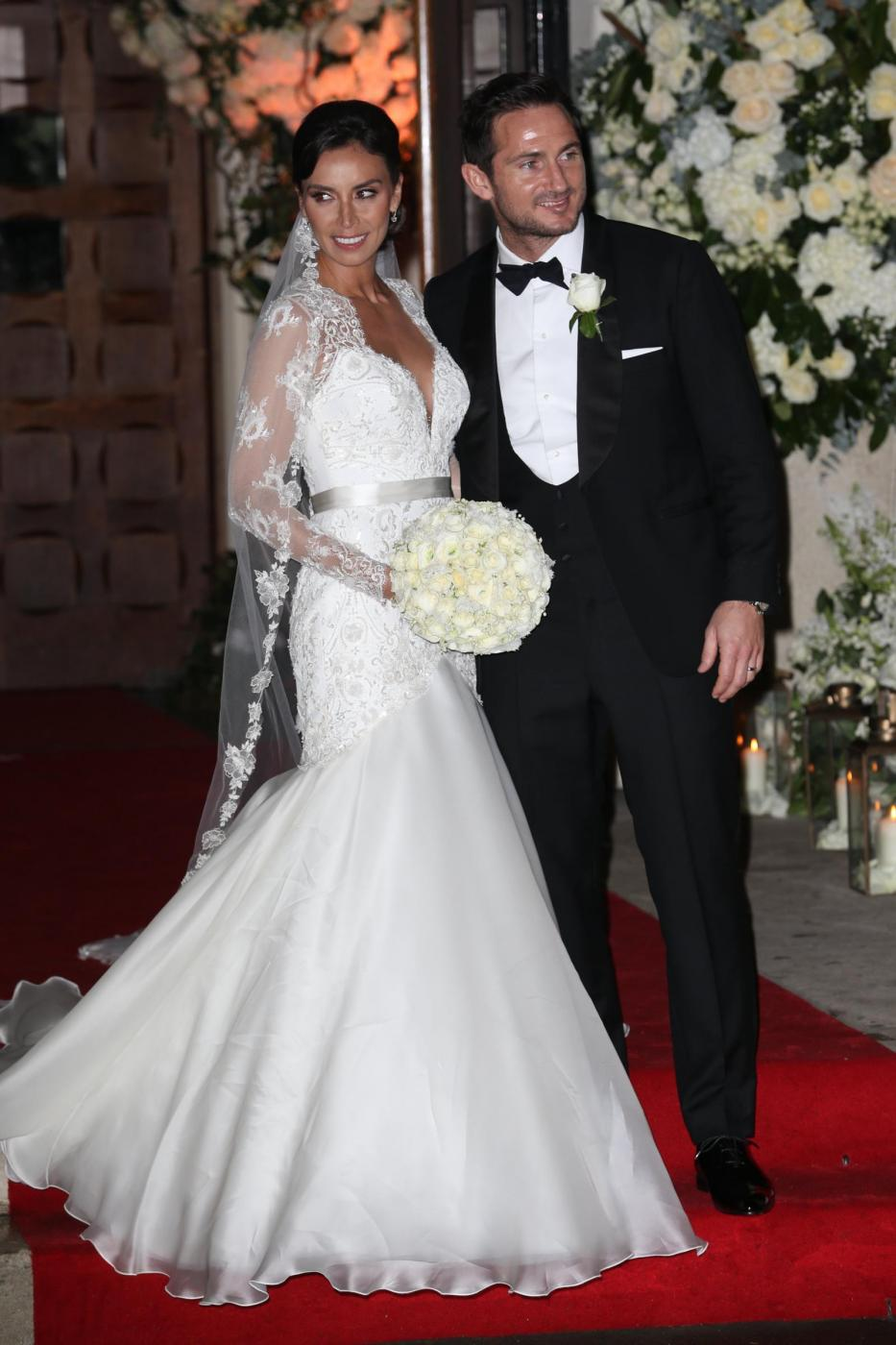 Frank Lampard sposa Christine Bleakley4