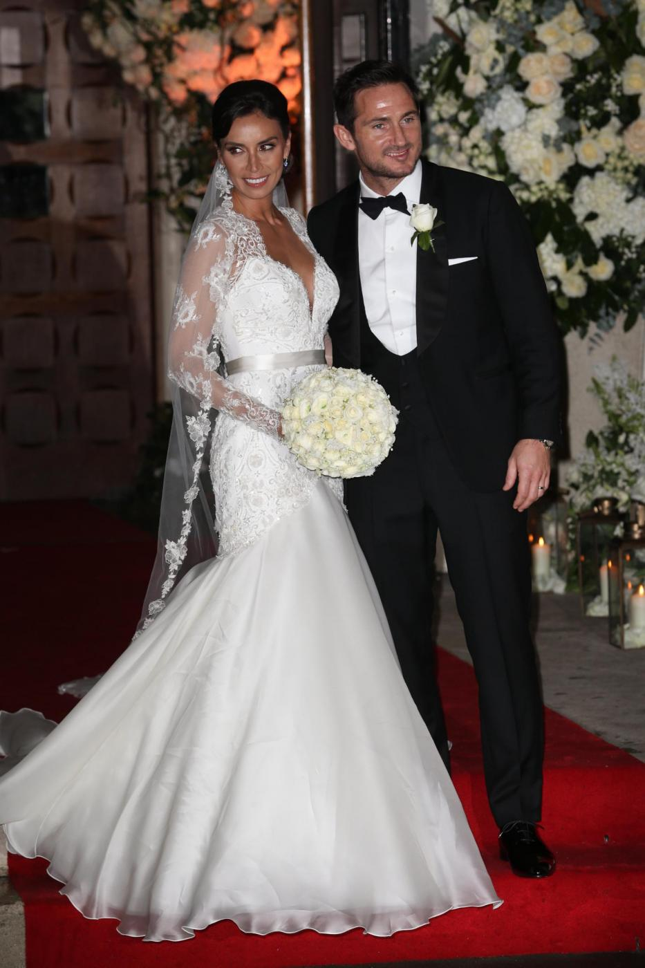 Frank Lampard sposa Christine Bleakley3