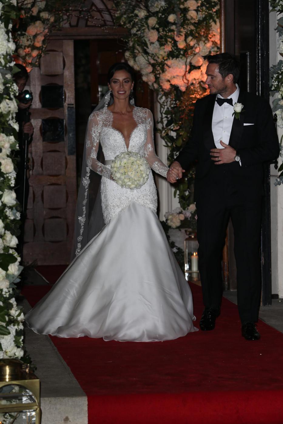 Frank Lampard sposa Christine Bleakley2