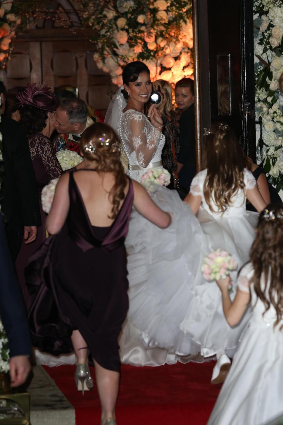 Frank Lampard sposa Christine Bleakley12