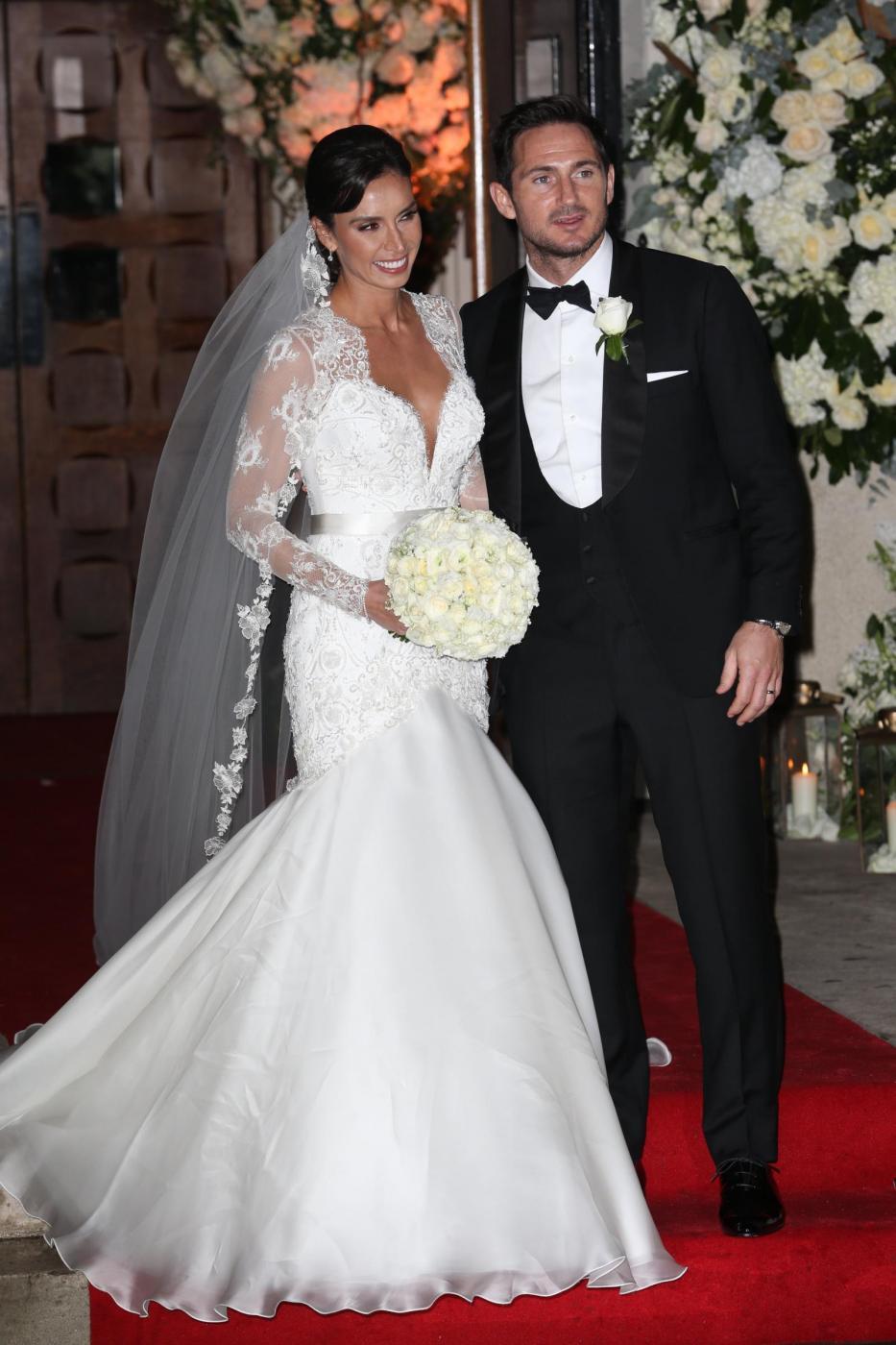 Frank Lampard sposa Christine Bleakley5