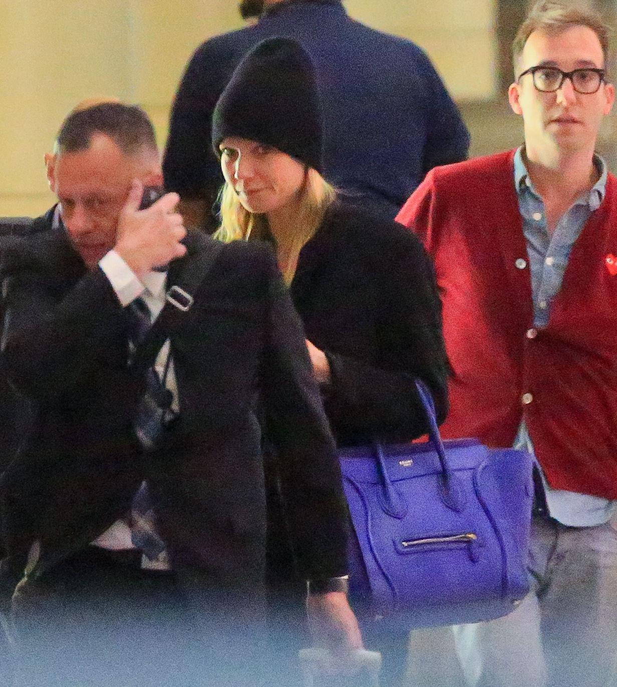 Gwyneth Paltrow senza trucco all'aereoporto13