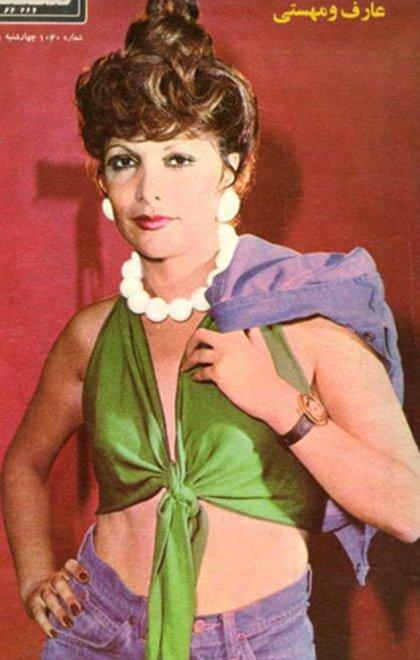 Iran, look donne prima del 1979 minigonne e volto scoperto10