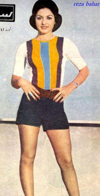Iran, look donne prima del 1979 minigonne e volto scoperto12