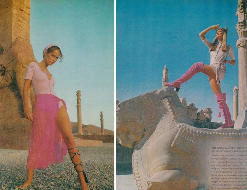 Iran, look donne prima del 1979 minigonne e volto scoperto2