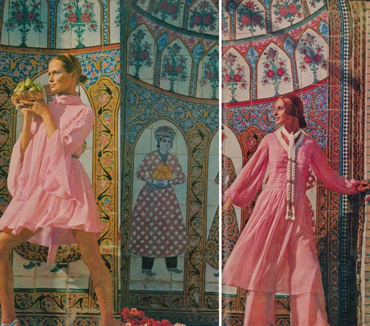 Iran, look donne prima del 1979 minigonne e volto scoperto3