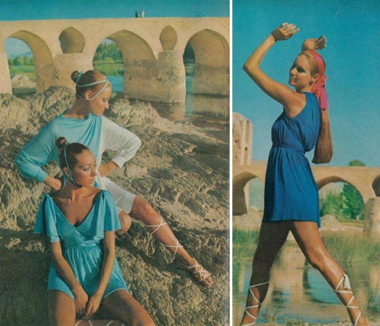 Iran, look donne prima del 1979 minigonne e volto scoperto6
