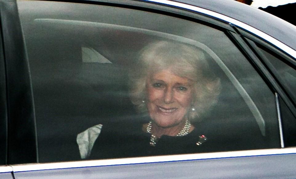 Kate Middleton, abito Luisa Spagnoli nell'auto con George6