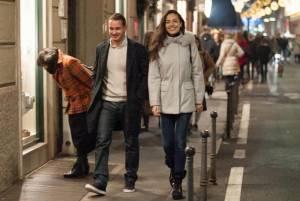Laura Barriales, shopping a Milano col fidanzato