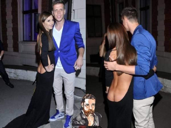"""vìRoma, Wojciech Szczesny e la foto """"imbarazzante"""" con l'ex"""