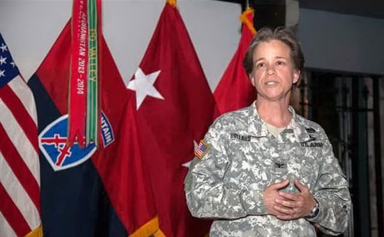 Esercito USA, rivoluzione: primo comandante donna nella storia