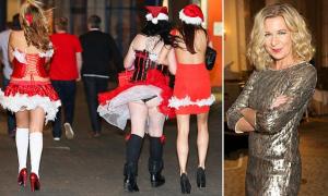 Donne ubriache che collassano per strada: la fine dell'eleganza