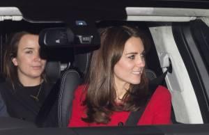 Kate Middleton, abito Luisa Spagnoli nell'auto con George FOTO6