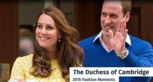 Kate Middleton regina di stile: VIDEO migliori look 2015