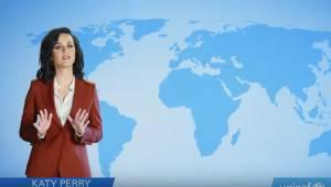 "Katy Perry ""meteorina"" per l'Unicef"