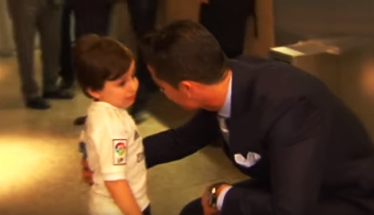 Cristiano Ronaldo, il suo nuovo gesto di solidarietà