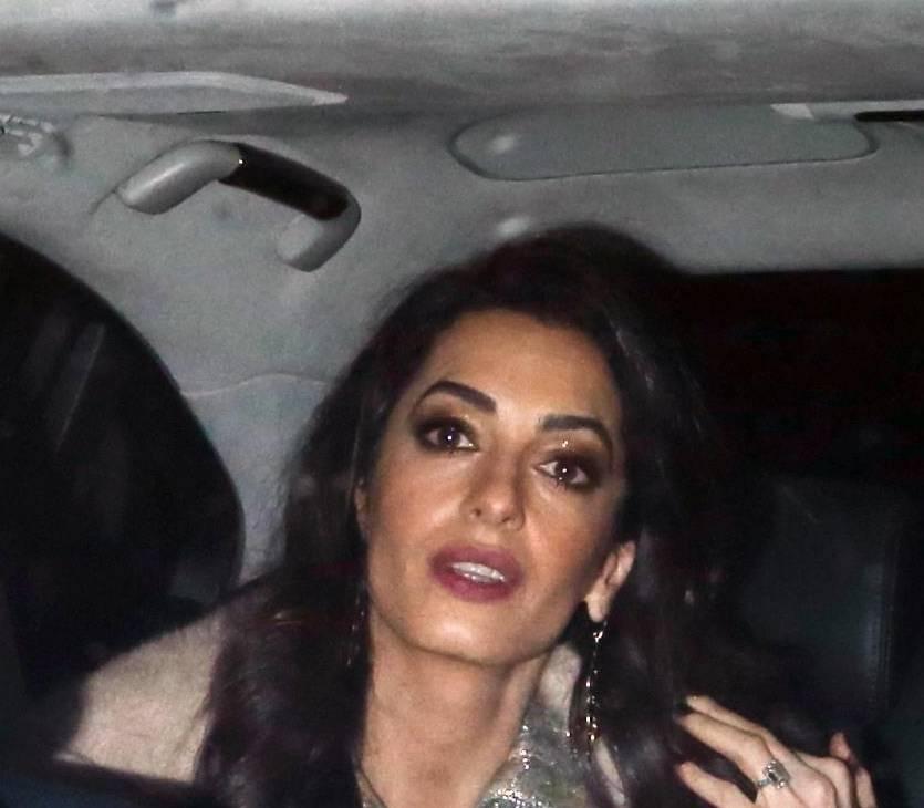 Amal Alamuddin Clooney incinta? Le foto che smentiscono...
