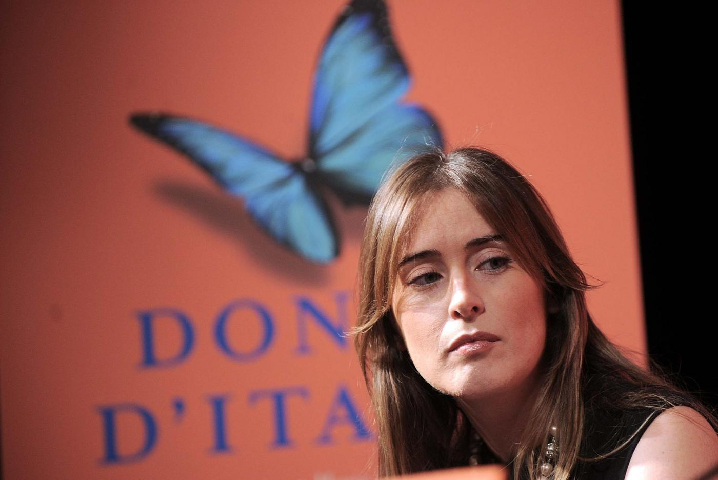 Maria Elena Boschi look: tubino nero aderente FOTO yu