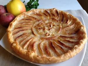 Apfelwähe ovvero Torta di Mele Svizzera