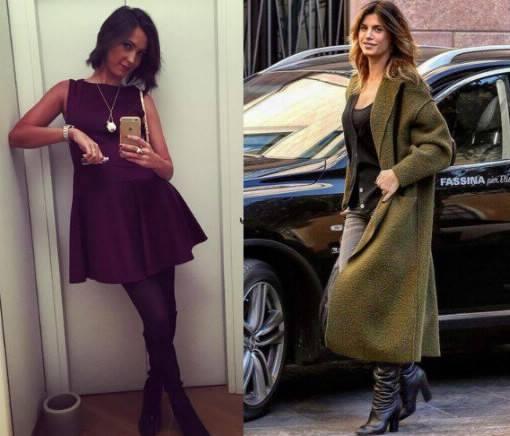 Caterina Balivo, Elisabetta Canalis: passione stivali FOTO