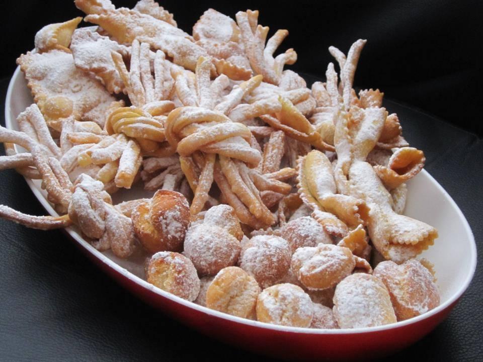 Speciale Carnevale: Nodi di tagliatelle, Girelle e Caramelle