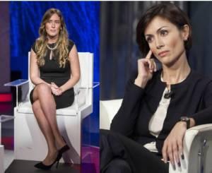 Maria Elena Boschi e Mara Carfagna: look a confronto FOTO