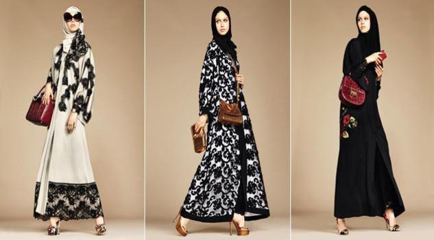 Dolce & Gabbana modelle col velo: collezione per islamici15