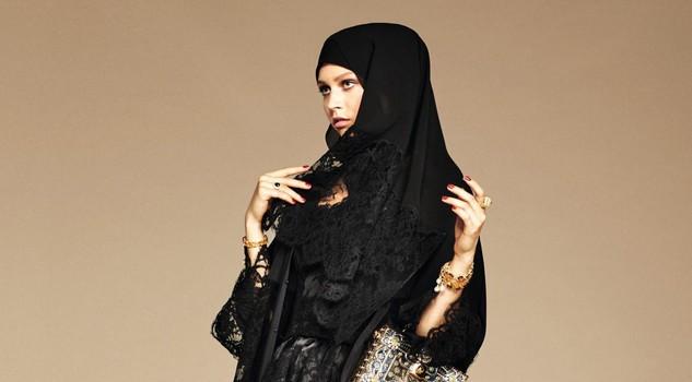 Dolce & Gabbana modelle col velo: collezione per islamici8