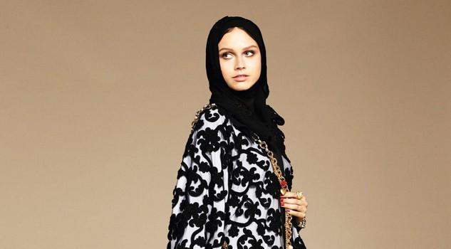 Dolce & Gabbana modelle col velo: collezione per islamici10