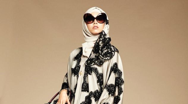 Dolce & Gabbana modelle col velo: collezione per islamici13