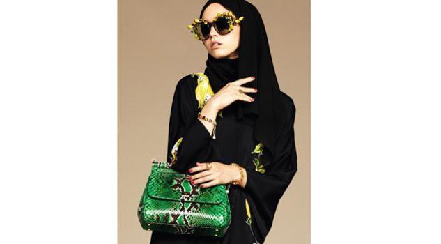 Dolce & Gabbana modelle col velo: collezione per islamici