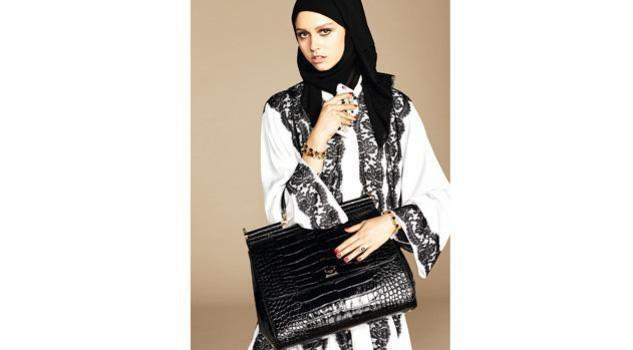 Dolce & Gabbana modelle col velo: collezione per islamici3