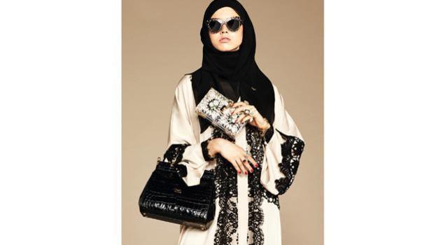 Dolce & Gabbana modelle col velo: collezione per islamici5