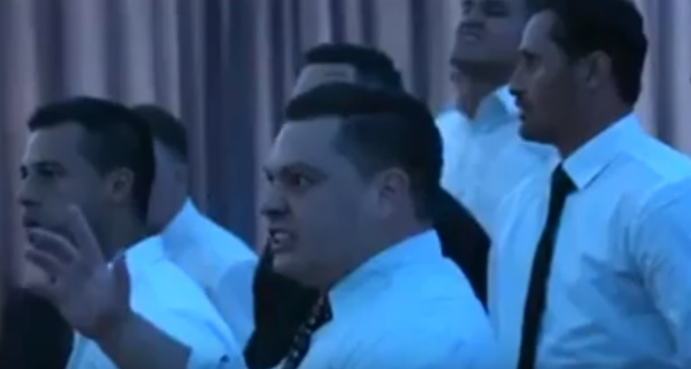 Haka alle nozze in Nuova Zelanda, la sposa si commuove 4