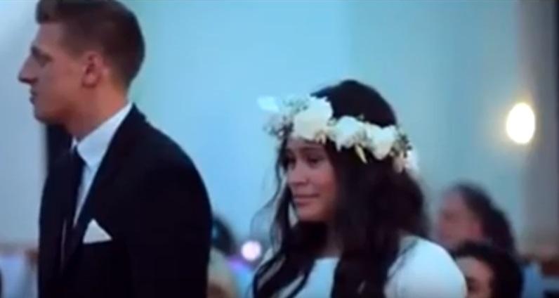 Haka alle nozze in Nuova Zelanda, la sposa si commuove 3