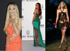Irina Shayk, Rita Ora, Gigi Hadid: dive in Versace FOTO