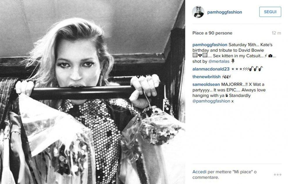 Kate Moss ricorda così David Bowie