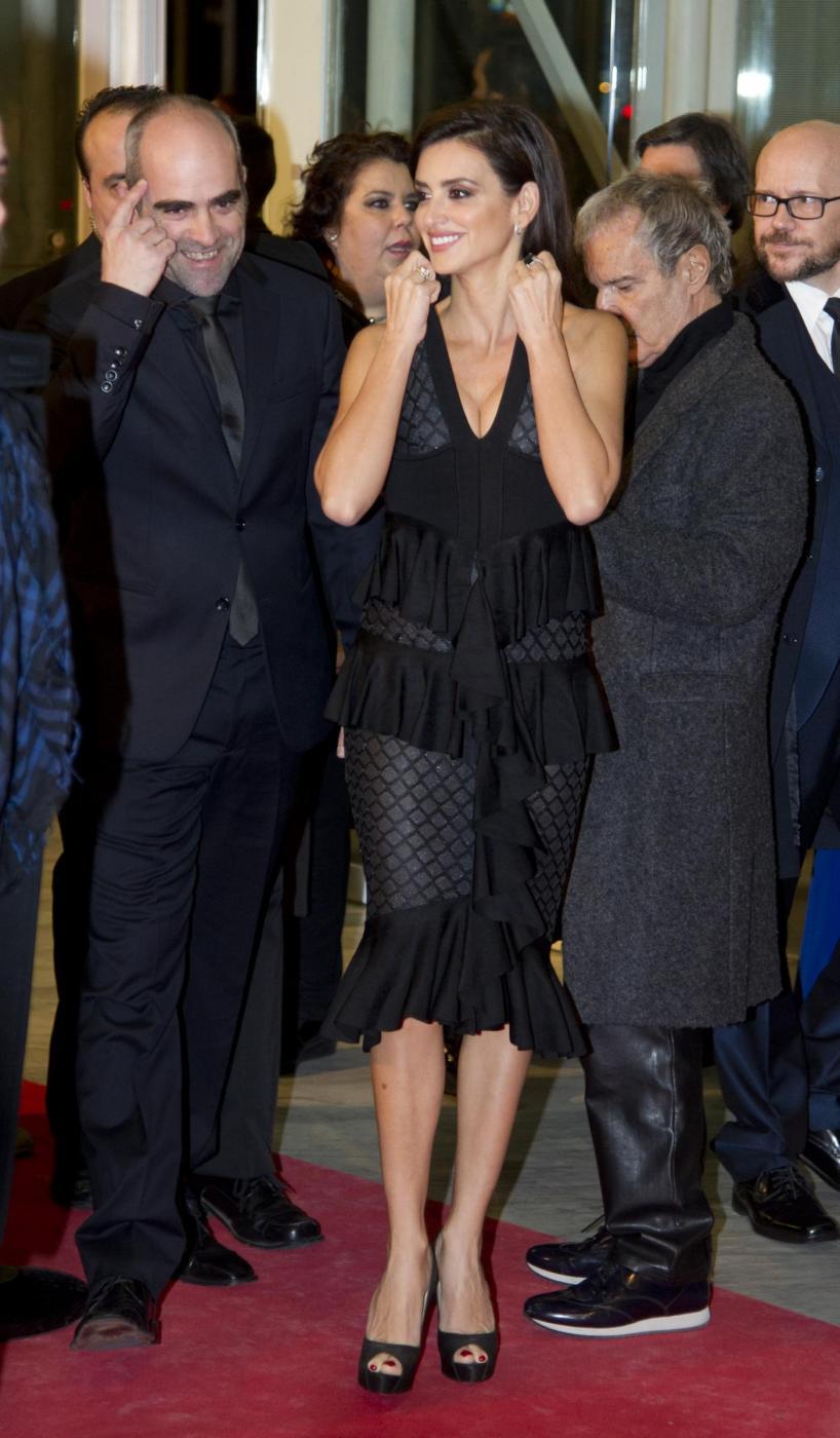 Penelope Cruz sensuale con l'abito scollato9