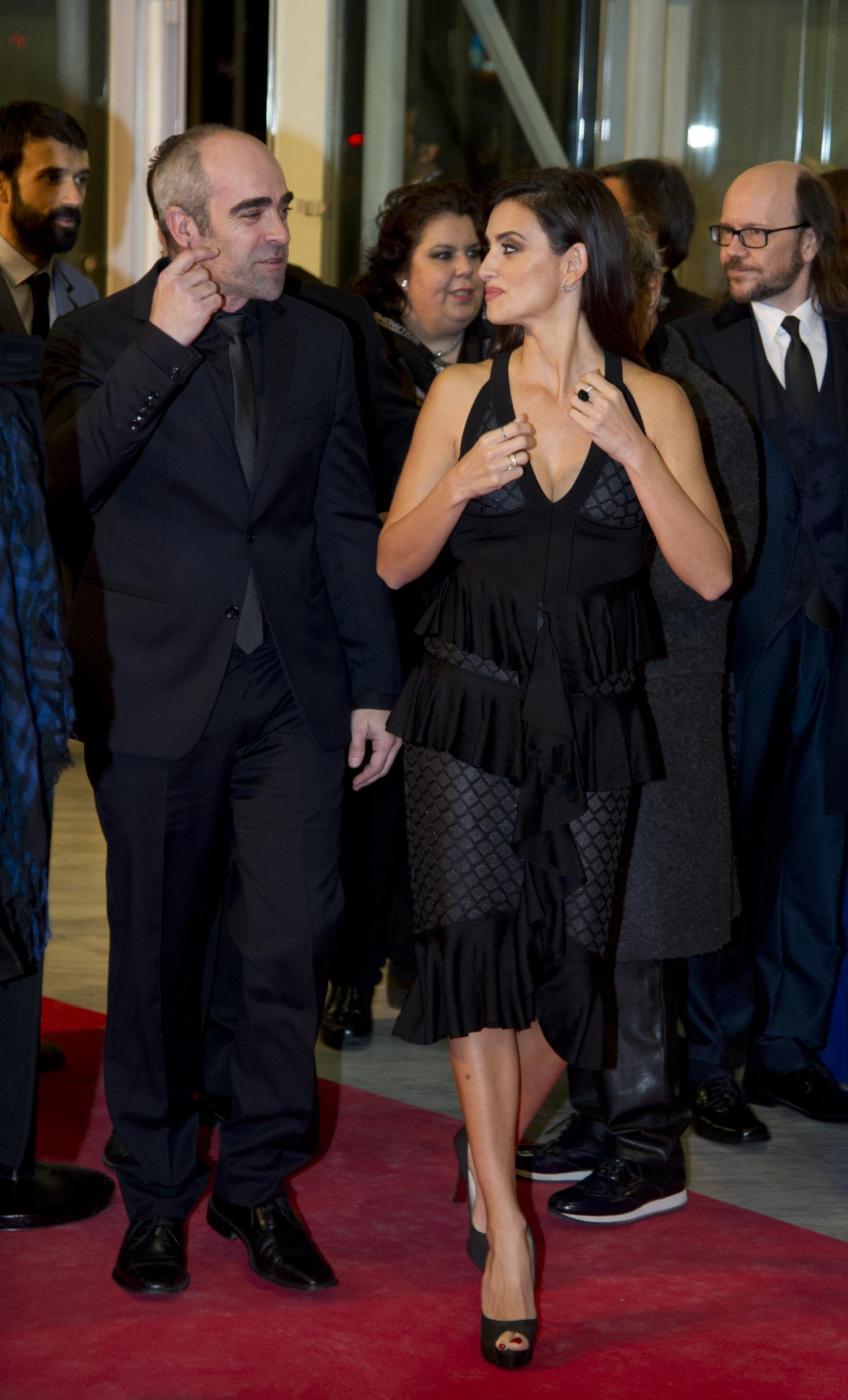 Penelope Cruz sensuale con l'abito scollato6