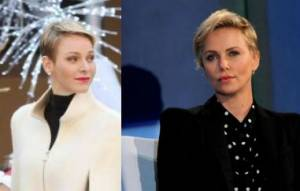 Charlène Wittstock, Charlize Theron...mai capelli lunghi FOTO