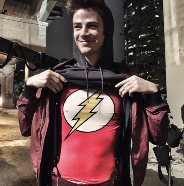 Grant Gustin FOTO protagonista The Flash: vita privata