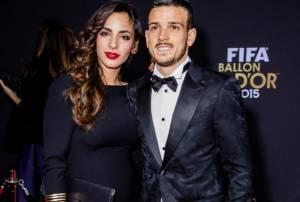 Alessandro Florenzi e la moglie Ilenia Atzori al Pallone d'oro FOTO