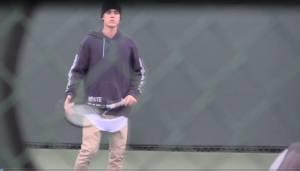 Justin Bieber, lezione di tennis privata a Beverly Hills